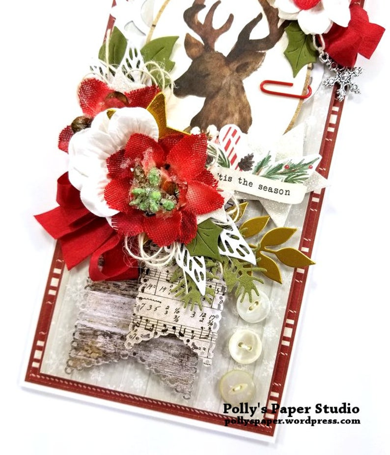 Christmas Memories Greeting Card Polly's Paper Studio 04