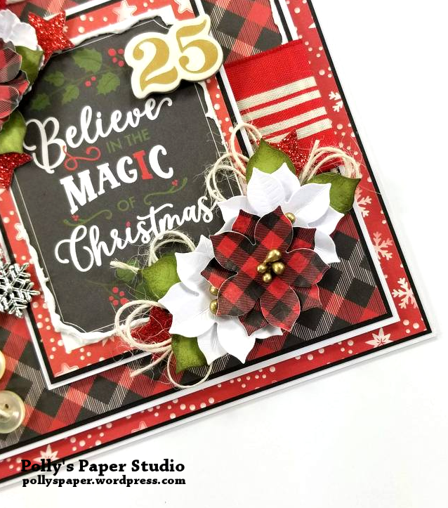 Believe in the Magic Christmas Greeting Card Polly's Paper Studio 04