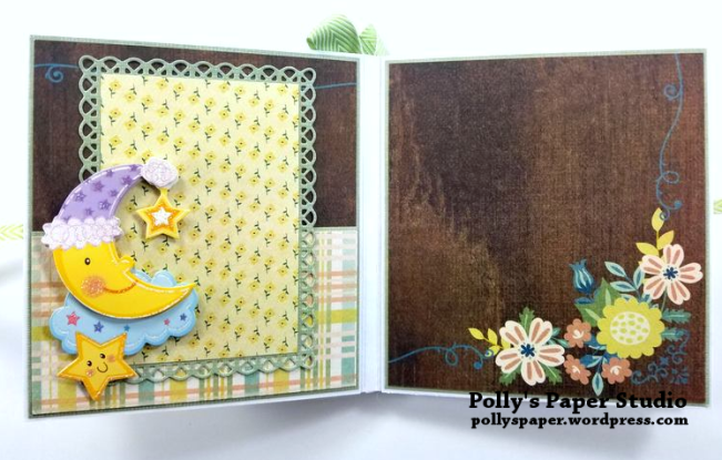 Baby Mini Album Scrapbook Polly's Paper Studio 02