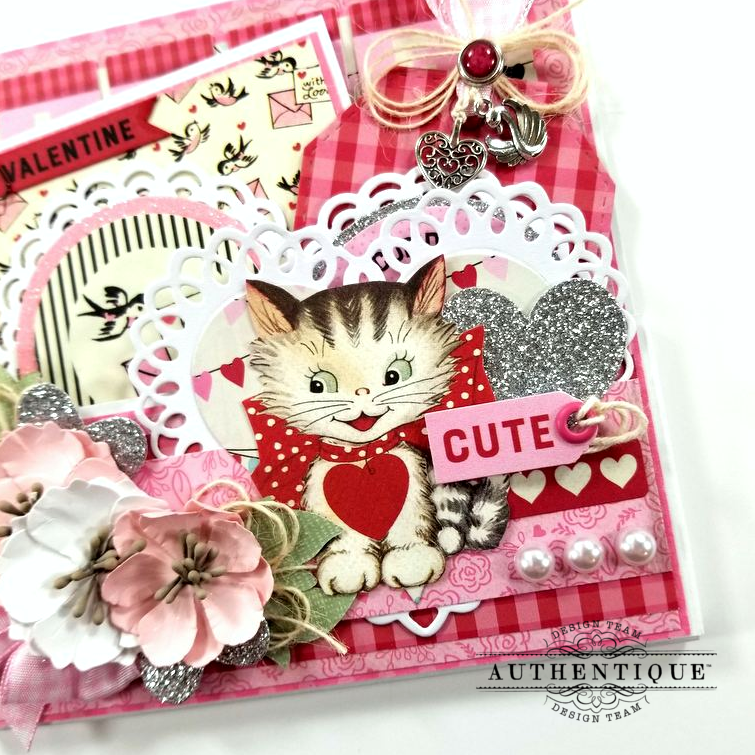Be My Valentine Pocket With Tags Polly's Paper Studio 02