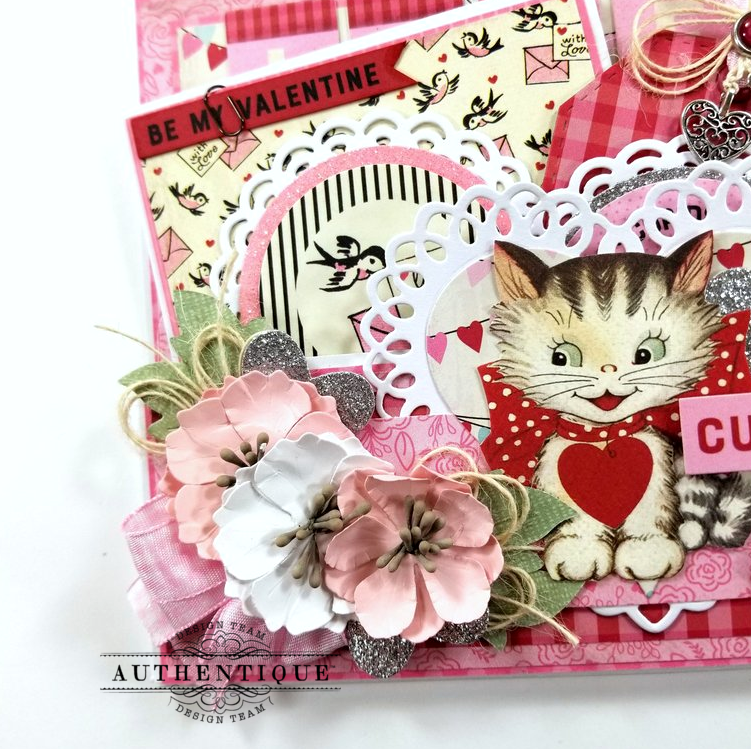 Be My Valentine Pocket With Tags Polly's Paper Studio 03