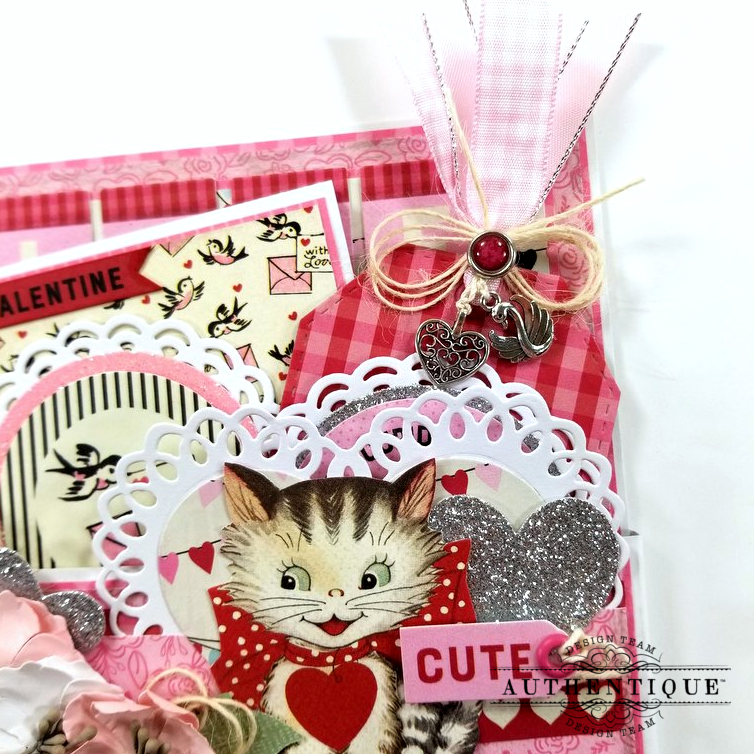 Be My Valentine Pocket With Tags Polly's Paper Studio 04
