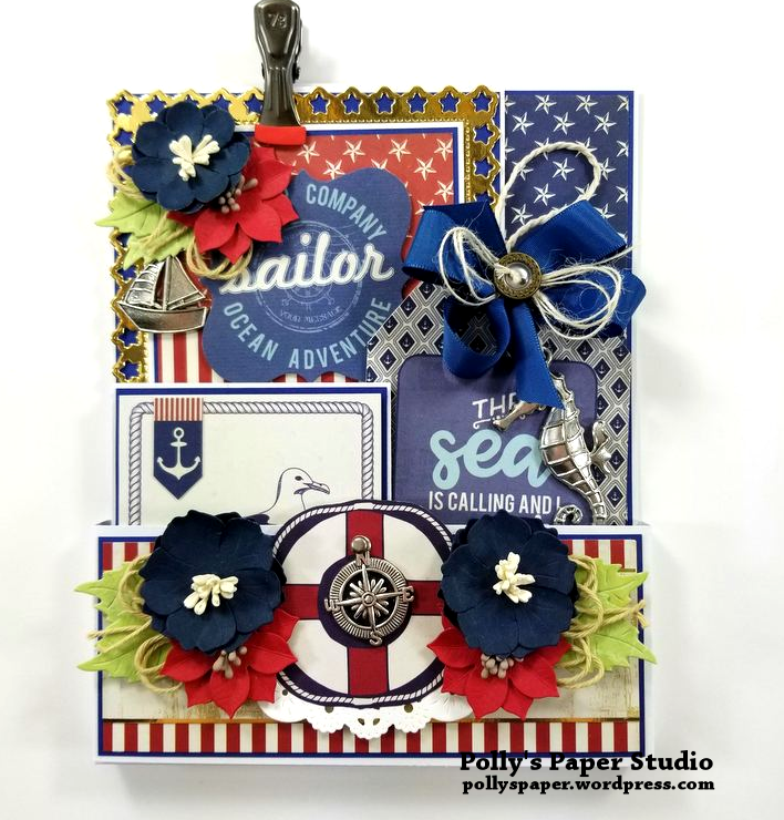Nautical Loaded Pocket Polly's Paper Studio 01