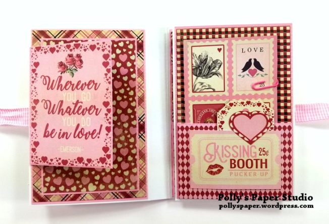 Valentine Flip Book Polly's Paper Studio 04