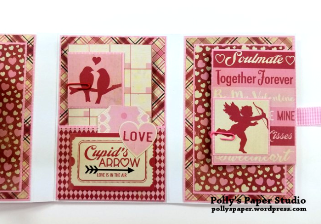 Valentine Flip Book Polly's Paper Studio 06