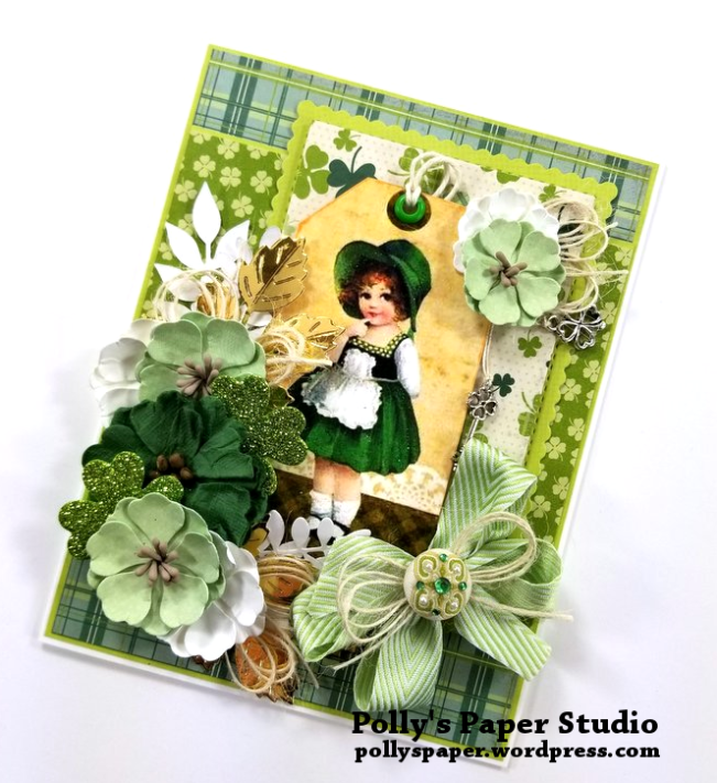 Irish Charm Greeting Card Polly's Paper Studio 02