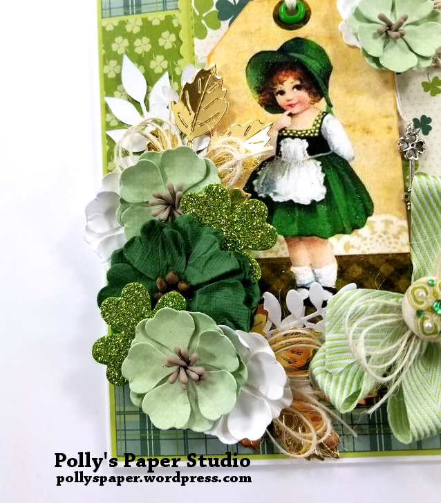 Irish Charm Greeting Card Polly's Paper Studio 04