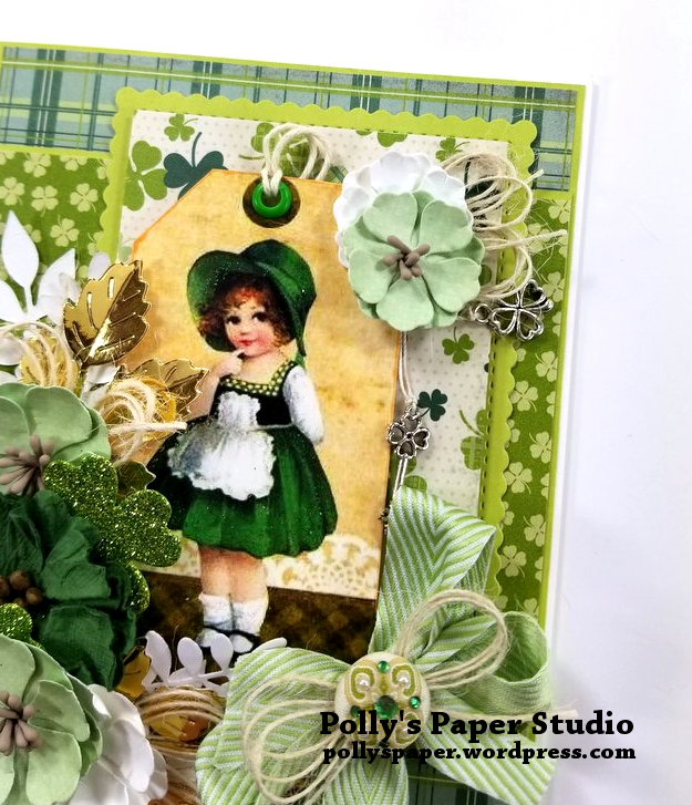 Irish Charm Greeting Card Polly's Paper Studio 05