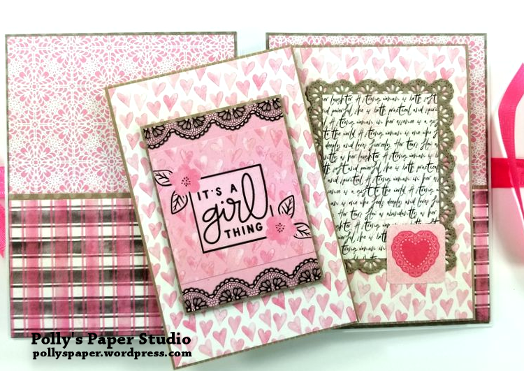 Flawless Pocket Folio Polly's Paper Studio 06