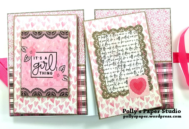 Flawless Pocket Folio Polly's Paper Studio 08