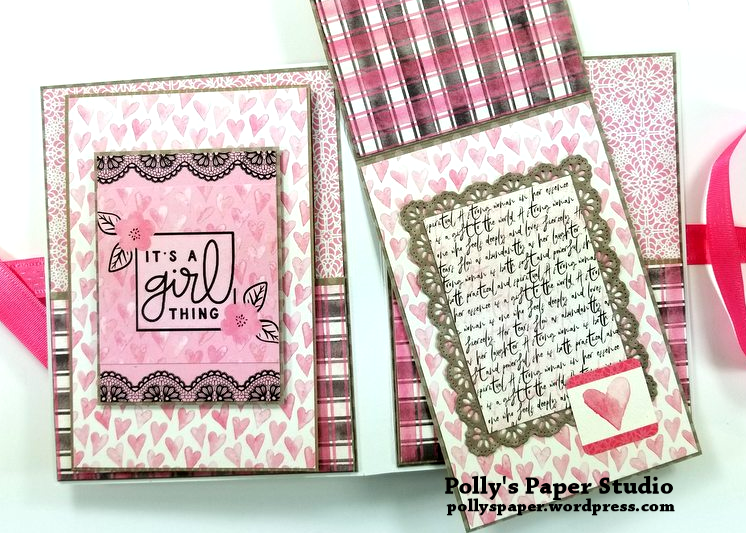 Flawless Pocket Folio Polly's Paper Studio 09