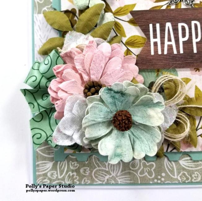 Happy Day All Occasion Greeting Card Polly's Paper Studio 04