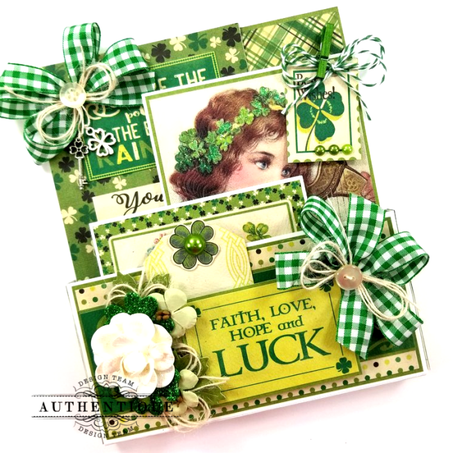 St Patrick's Loaded Pocket Polly's Paper Studio 01