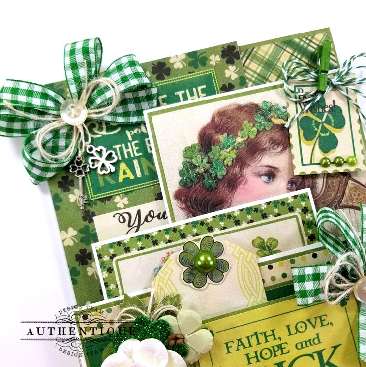 St Patrick's Loaded Pocket Polly's Paper Studio 03