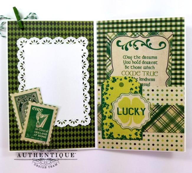 St Patrick's Loaded Pocket Polly's Paper Studio 06
