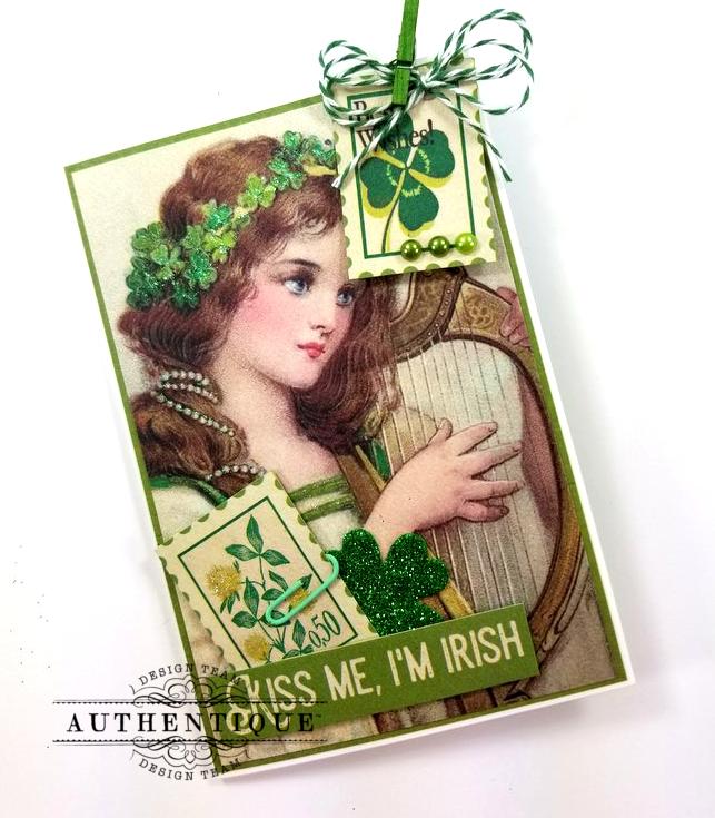 St Patrick's Loaded Pocket Polly's Paper Studio 07