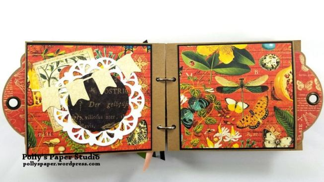Choose to Shine MIni Tag Album Polly's Paper Studio 03