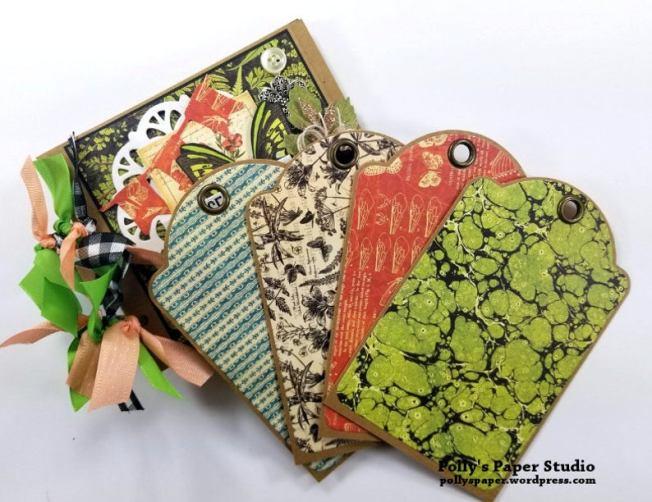 Choose to Shine MIni Tag Album Polly's Paper Studio 06