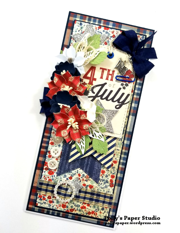 4th Of July Tag Card Polly's Paper Studio 02