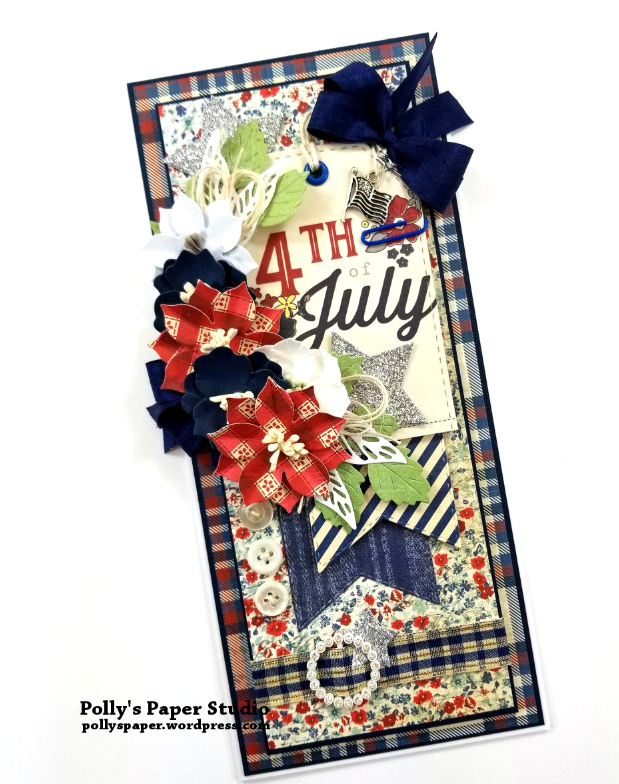 4th Of July Tag Card Polly's Paper Studio 03