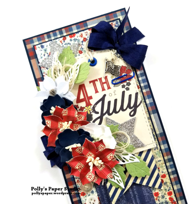 4th Of July Tag Card Polly's Paper Studio 04