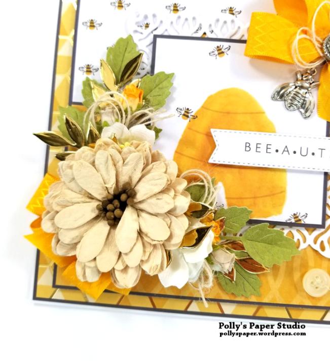 Beeutiful Greeting Card Polly's Paper Studio 04