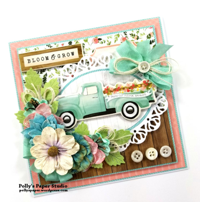 Bloom & Grow All Occasion Greeting Card Polly's Paper Studio 03