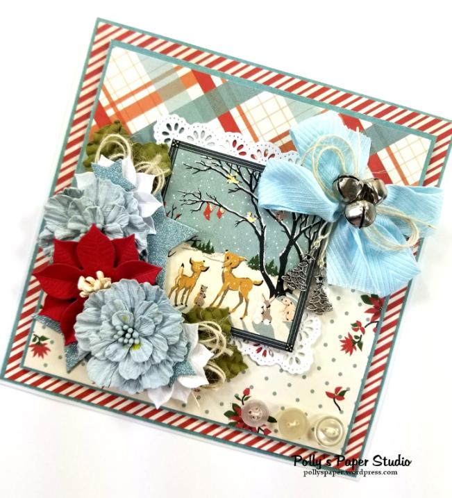 Christmas Wonderland Greeting Card Polly's Paper Studio
