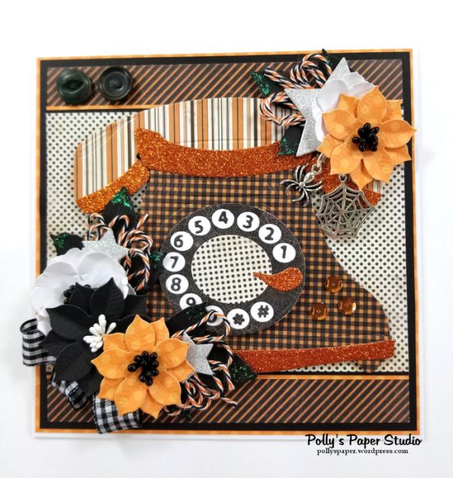 Halloween Telephone Polly's Paper Studio 01