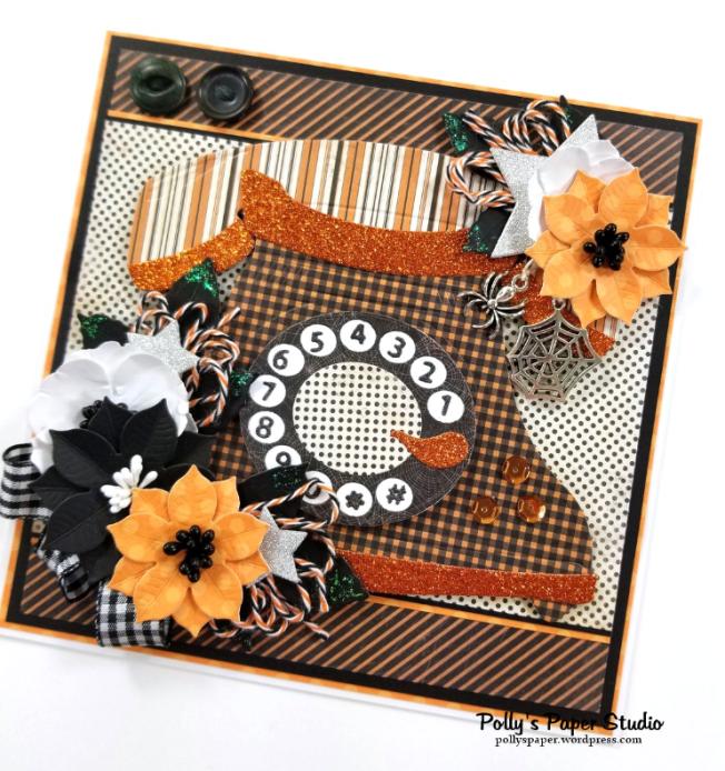 Halloween Telephone Polly's Paper Studio 02