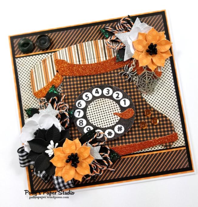 Halloween Telephone Polly's Paper Studio 03